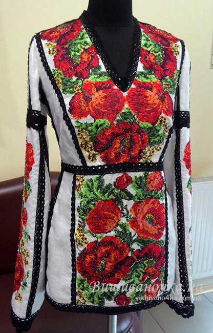 Жіноча сорочка з вишивкою 3041 купити в інтернет-магазині aee0f487ee02c