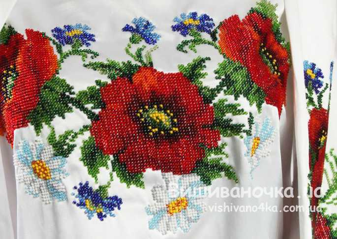 Купити жіночі вишиванки бісером - vishivano4ka.com.ua 3caff7c9511ea