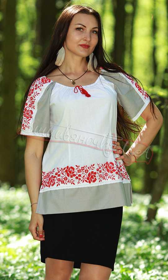 Жіноча сорочка з вишивкою 7138 купити в інтернет-магазині 7eac4f4d3167e