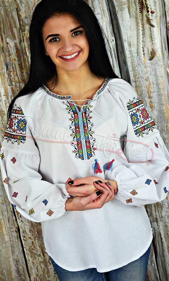 Жіноча сорочка з вишивкою UA05 купити в інтернет-магазині 5c3d7f911127c