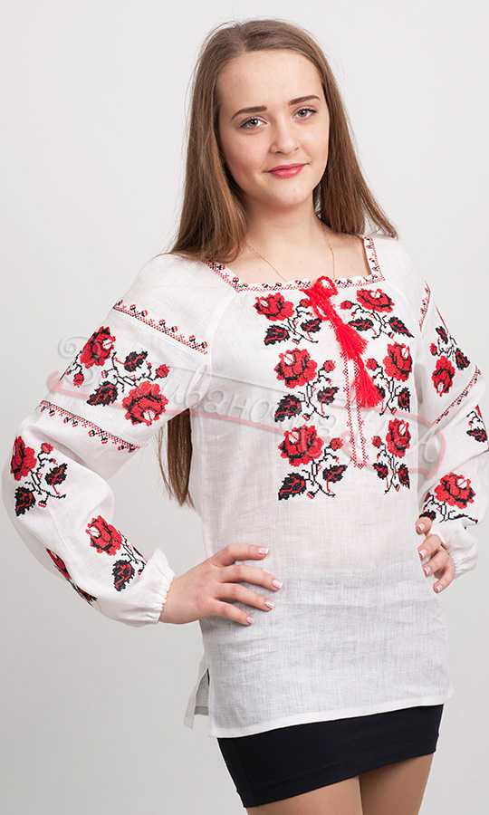 Жіноча сорочка з вишивкою 3716 купити в інтернет-магазині bf46d635b57db