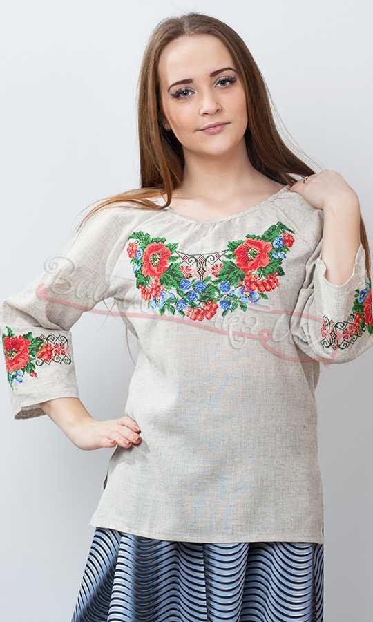 Блузки С Вышивкой Фото
