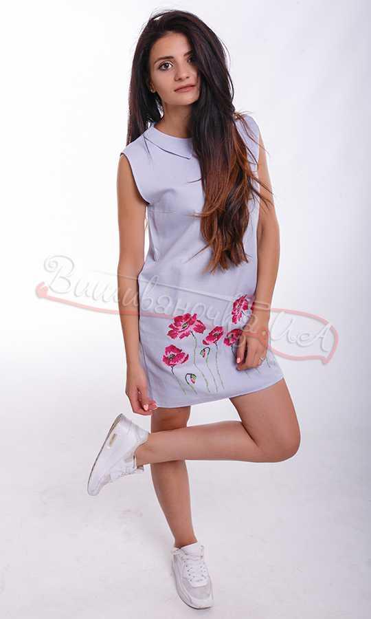 62d55bb3bf4 Летнее женское платье без рукава NY16 купить в интернет-магазине