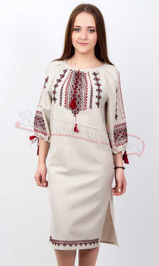 4bb7f210ae6b59 Жіноча сукня, ручної роботи РВ14 купити в інтернет-магазині