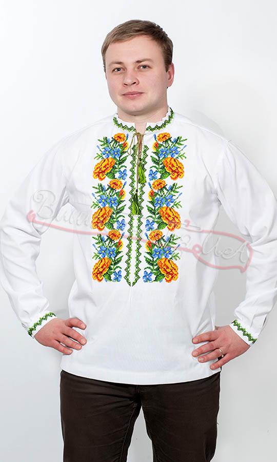 Купити чоловічу вишиванку ручної роботи  297a1e45871cd