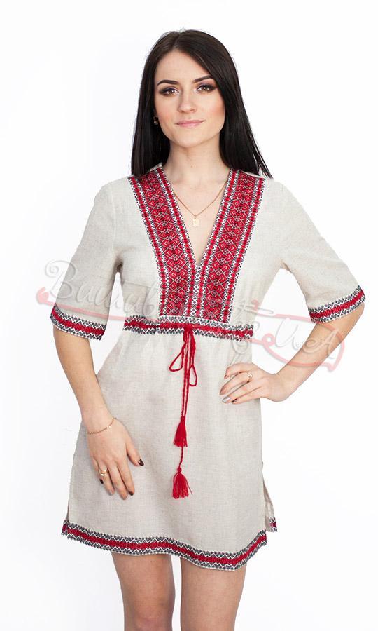 Плаття-туніка вишиванка жіноча 0014 6bab3bafa79cf