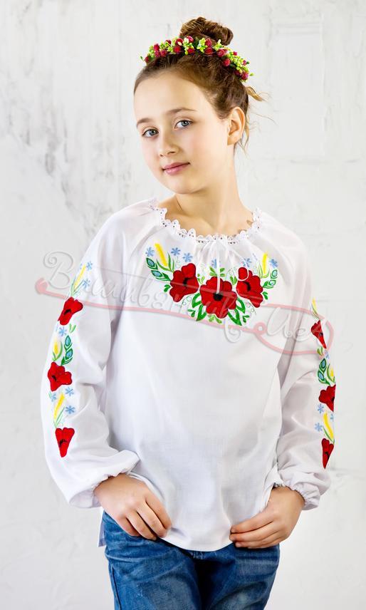 Купити вишиванку для дівчинки недорого в інтернет-магазині ... f152ce761dd72