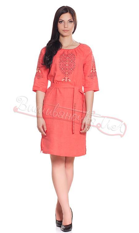 Женское платье с вышивкой СЛ 111 9bc427be524a0
