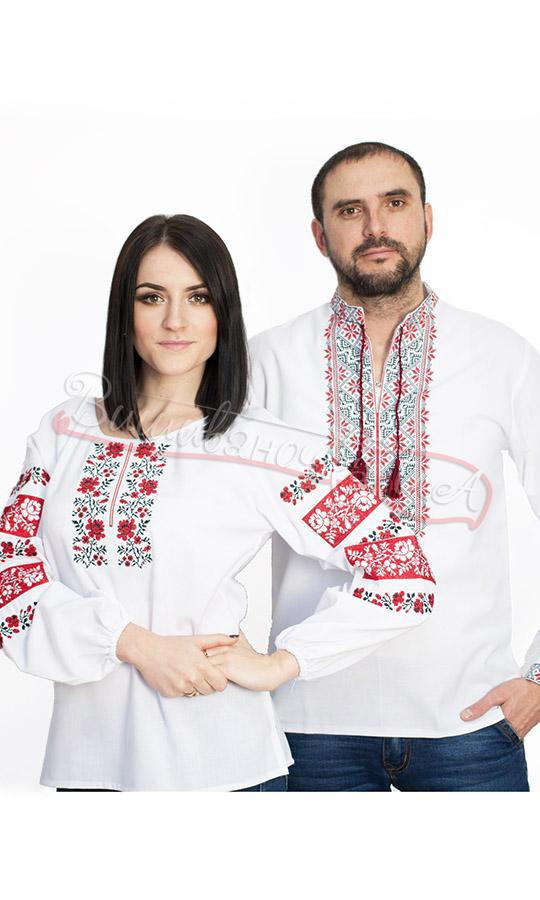 Купити вишиванки для пари - виробник «Вишиваночка.ua» d1616bb8b0522