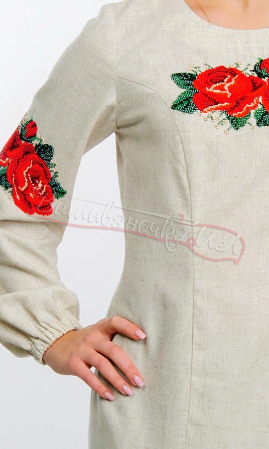 Платье вышитое бисером 91068b18d3e69