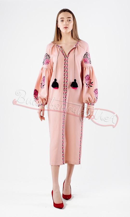 Ніжне плаття з домотканого полотна НК03 купити в інтернет-магазині c4f33756f5536