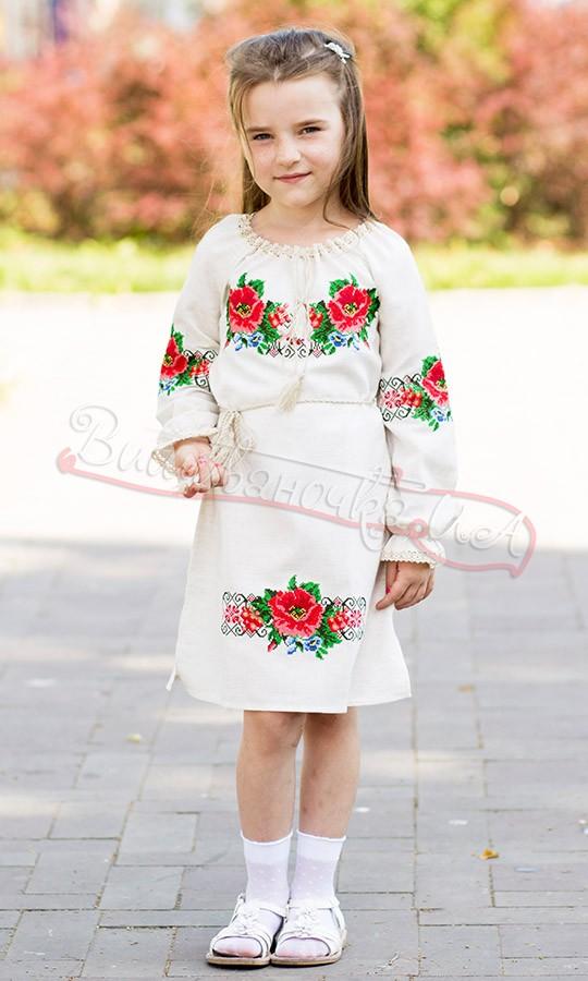 1b158f97791a17 Купити вишиванку для дівчинки недорого в інтернет-магазині ...