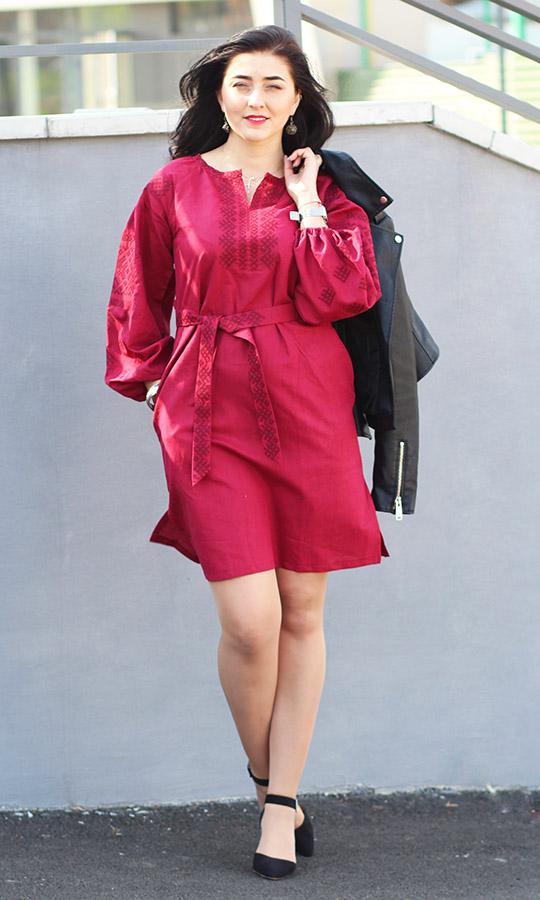 4596ff971fea1d Купити жіноче вишите плаття, вишиту туніку недорого