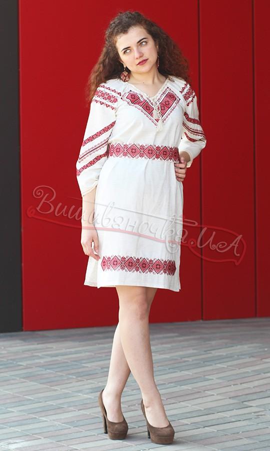 Плаття з червоним геометричним узором 5470 bb48686d51d58