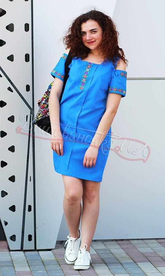 Молодіжне плаття з квітковим орнаментом 7294 b8fdbc024a128