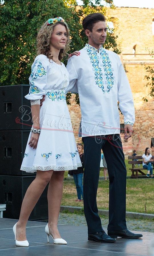 Купити вишиванки для пари - виробник «Вишиваночка.ua» 496aeff9b2532