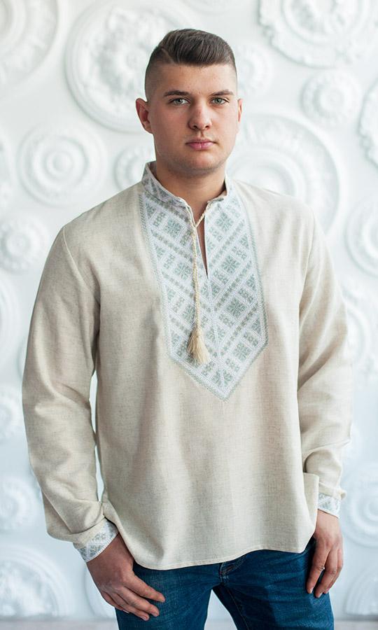 3d604176cd7 Купить мужскую вышитую рубашку в интернет-магазине Вишиваночка.ua