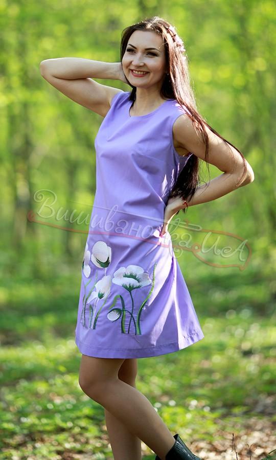 Вишите молодіжне плаття 7111 - фото 3 vishivano4ka.com.ua 7c7c389994cb2