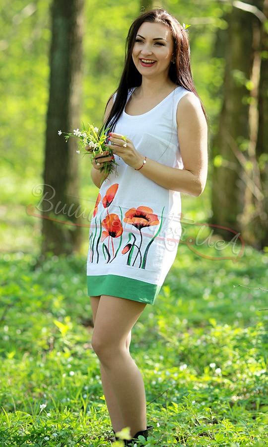 Вишите молодіжне плаття 7111 - фото 4 vishivano4ka.com.ua 5f761be6cfac4